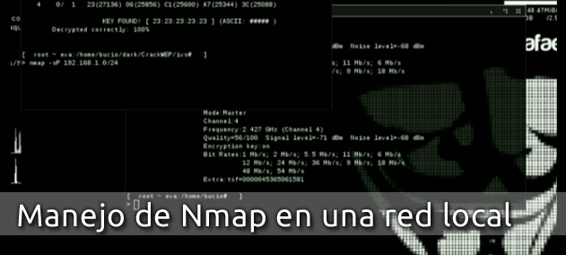 Manejo de Nmap en una red local